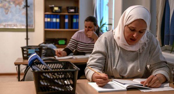 studerande vid svasa fvo på Marieborg Folkhögskola