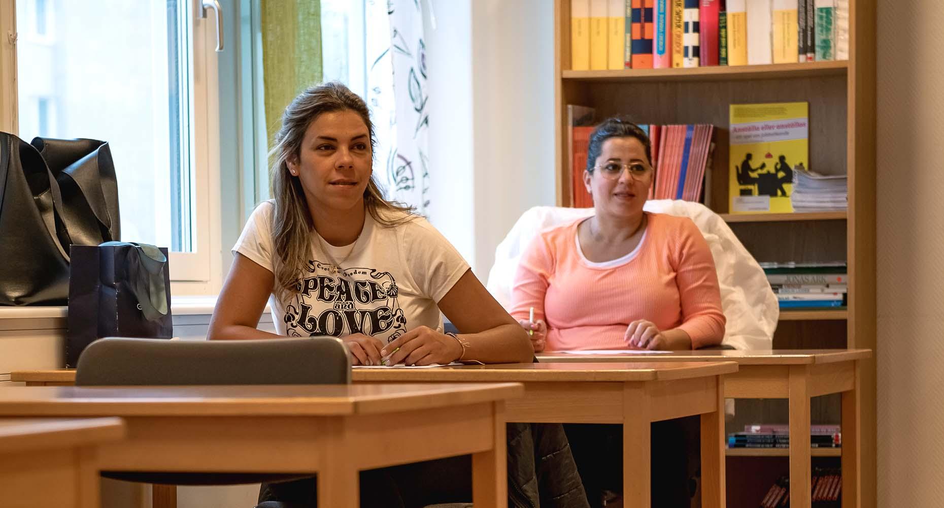 studerande vid sva företagande på Marieborg Folkhögskola